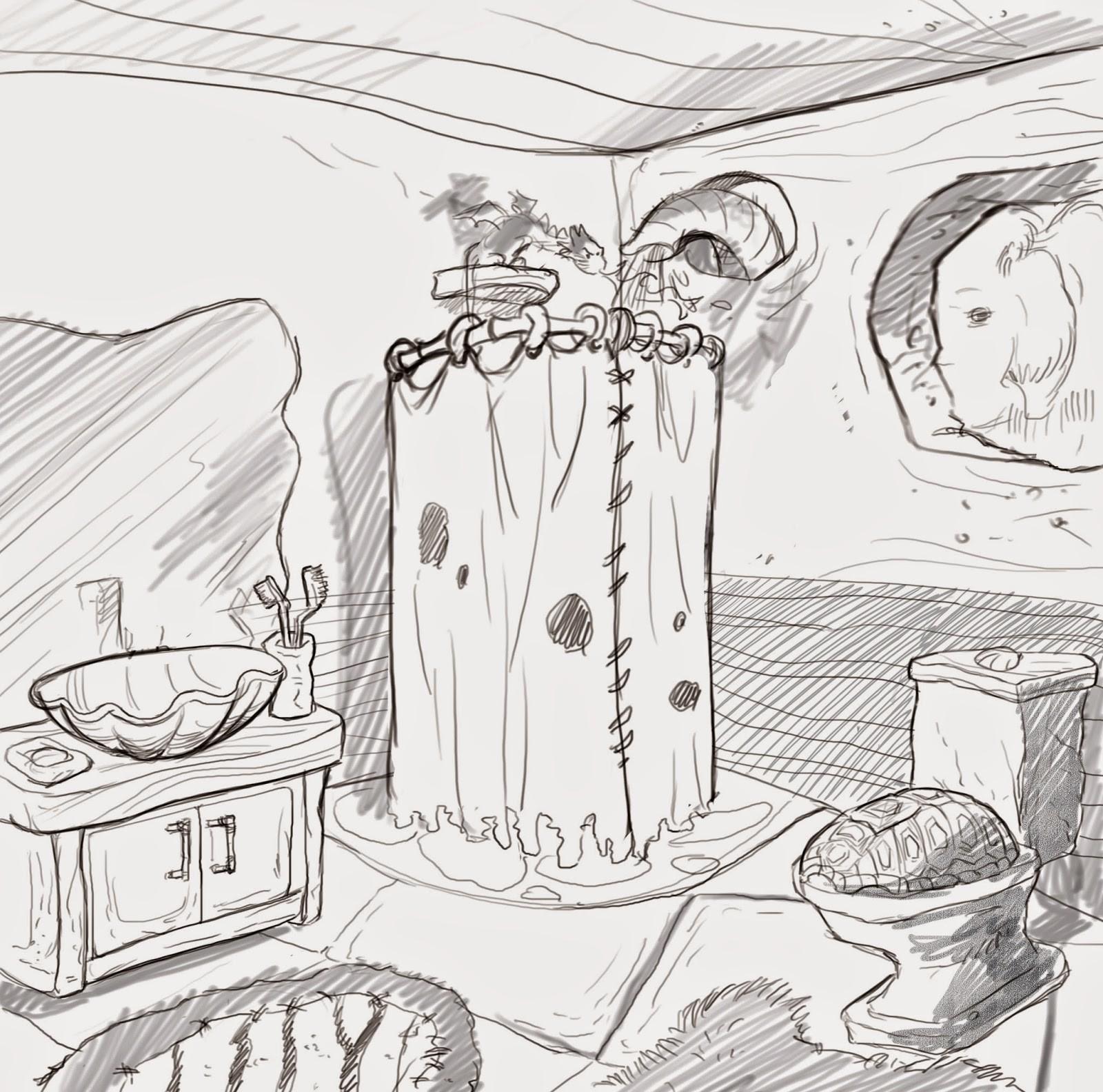 Concept Art Shower