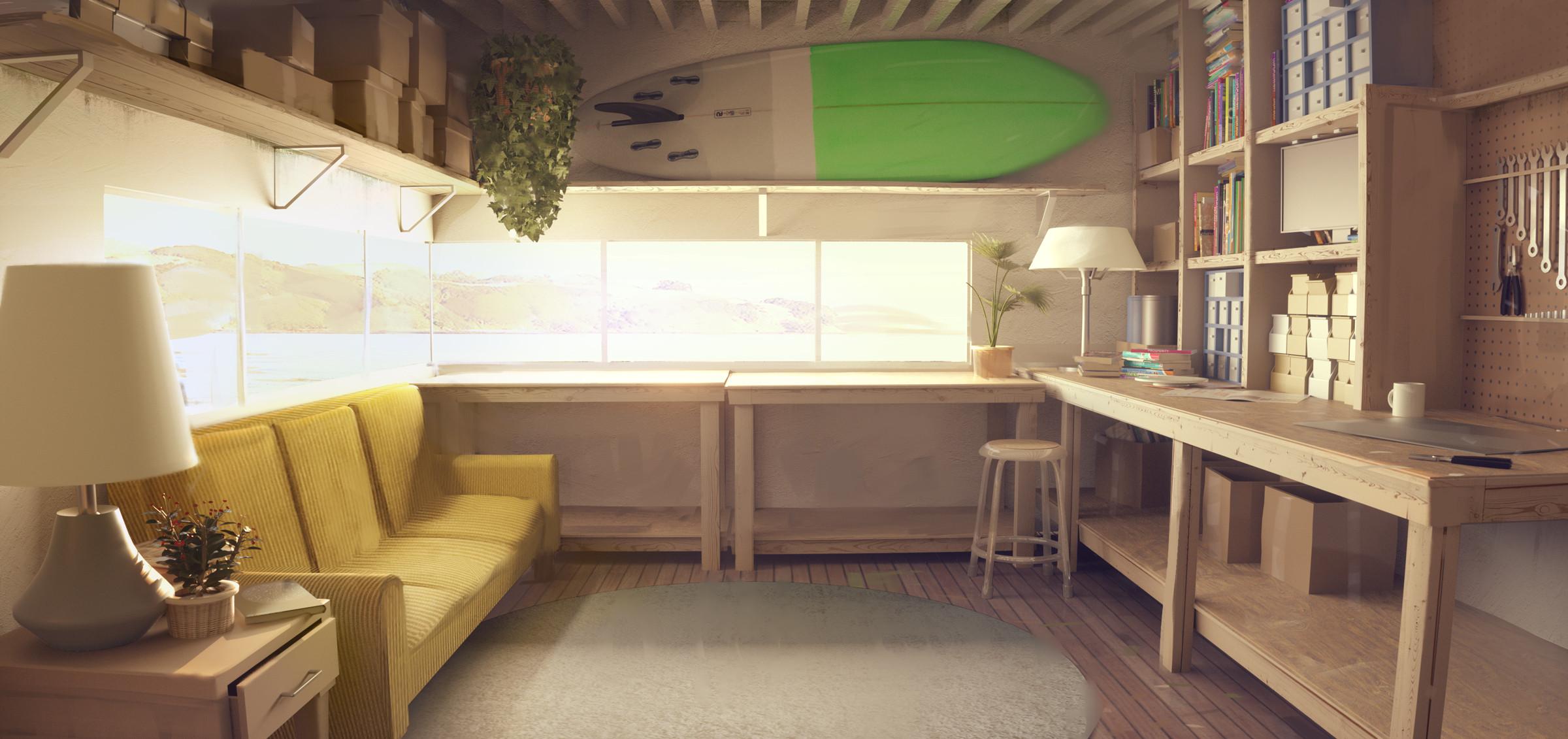 Main room / workshop