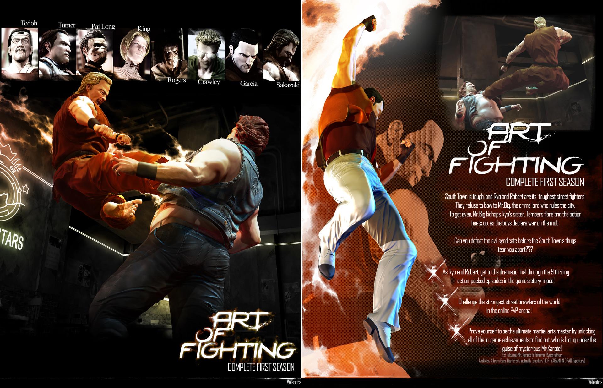 Artstation Art Of Fighting Reimagining Valentris Rrock