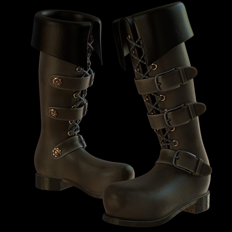 Arcadeous phoenix boot procedural textures