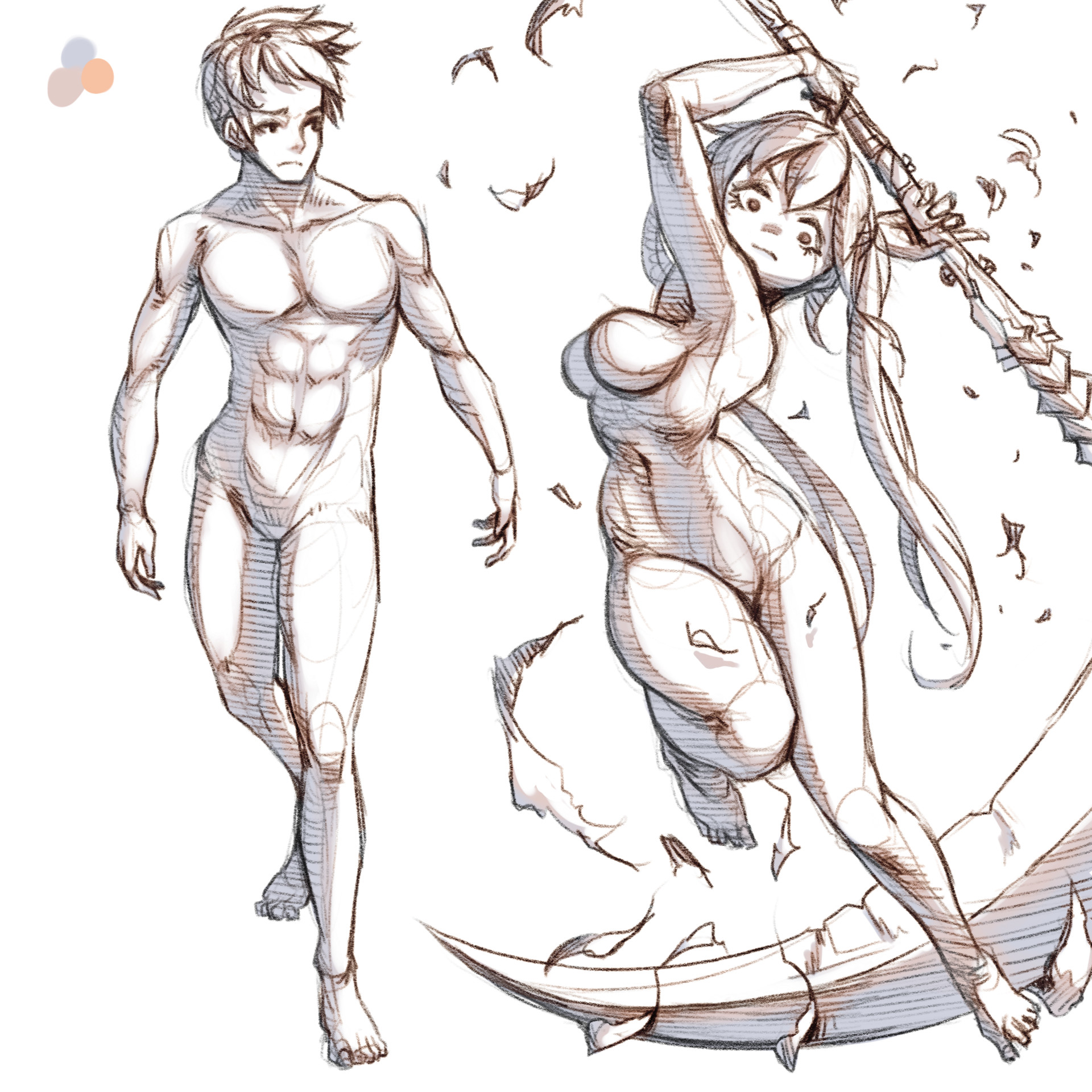 Art Croquis Sketch