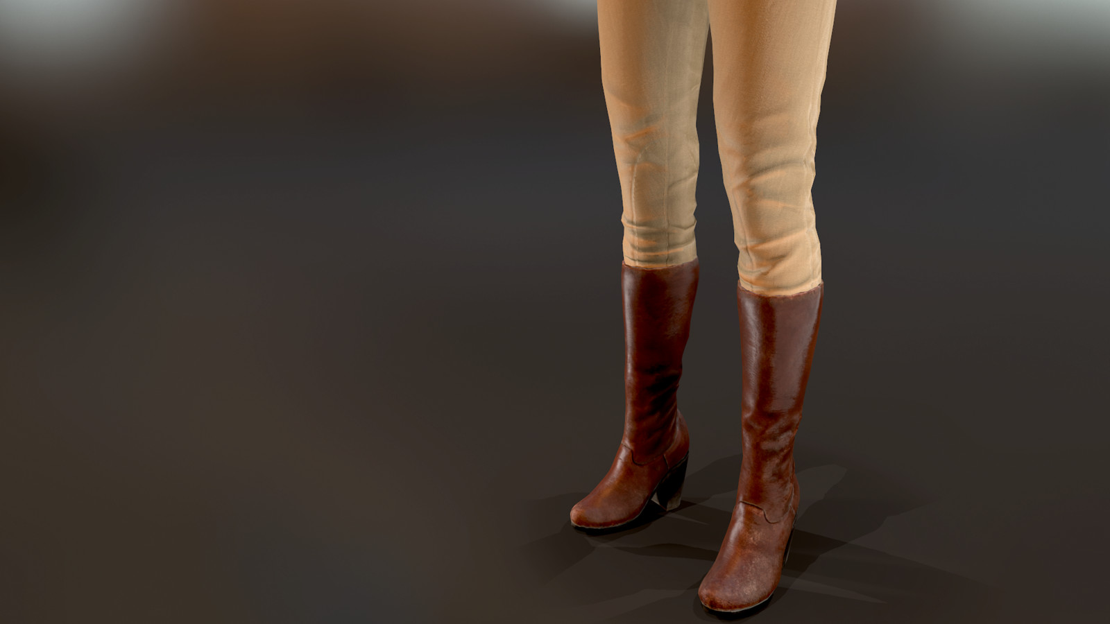 Westworld VR |Western Boots & Pants