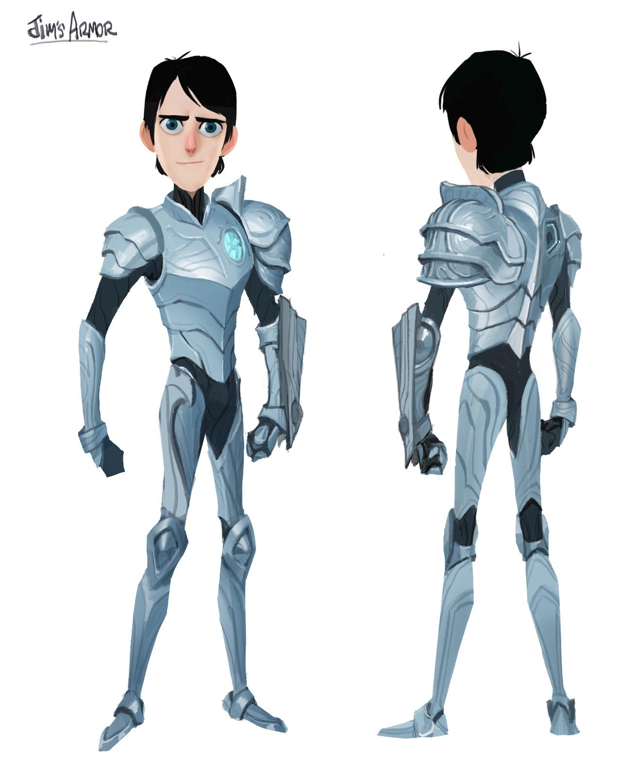 Trollhunters, Jim's Armor