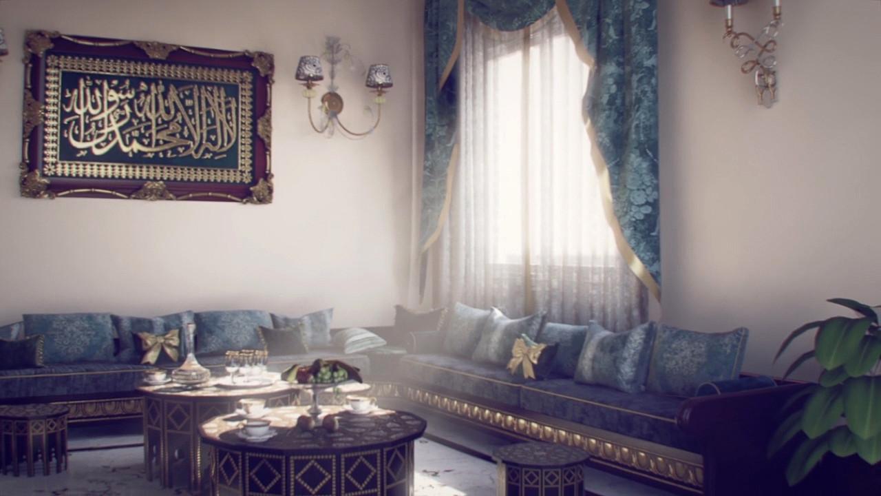 3d Salone Maroc : M kaddouri moroccan salon