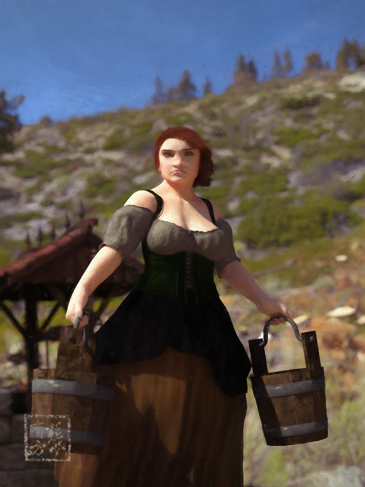 Dwarf Maiden