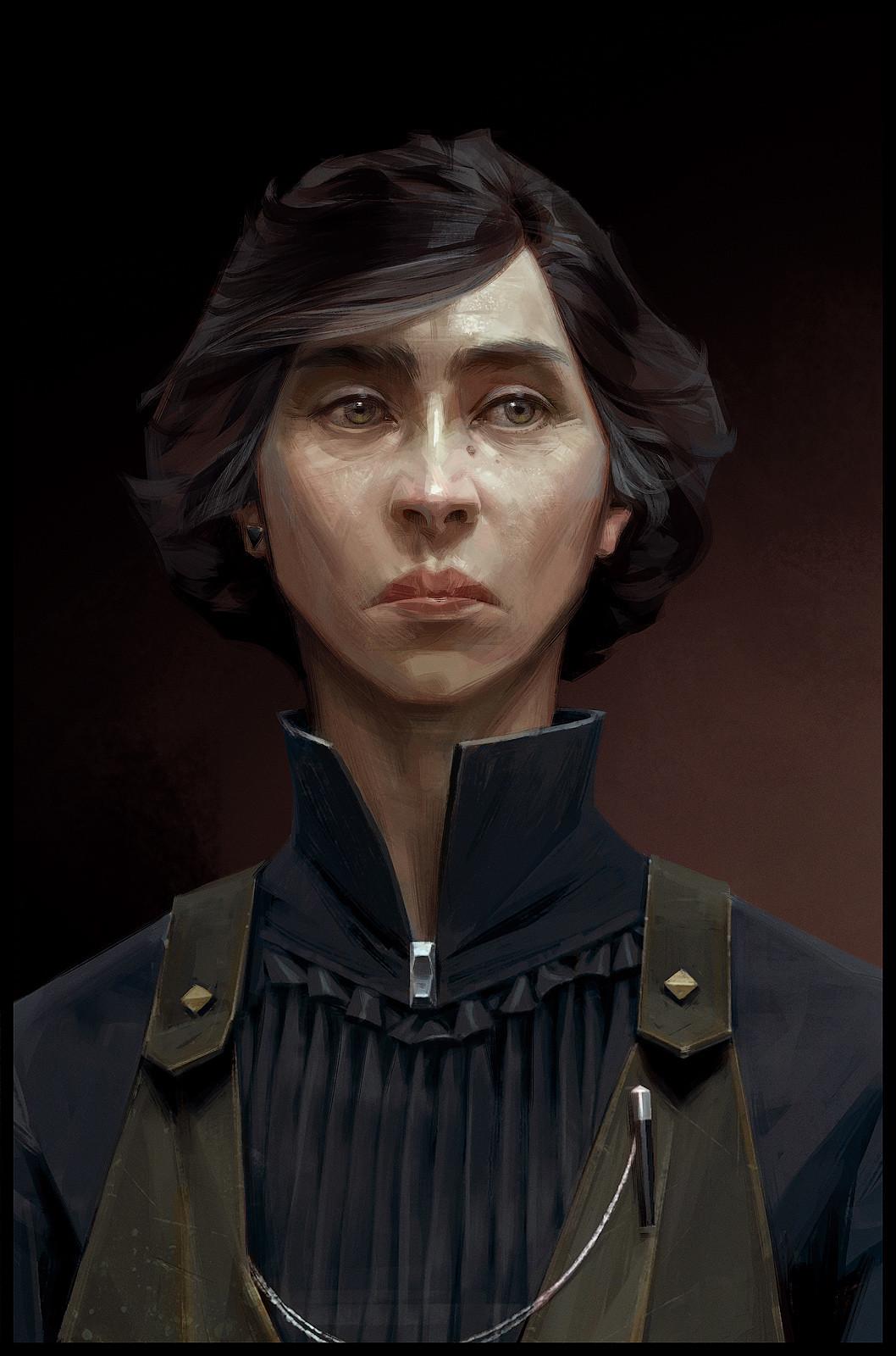 Sergey kolesov alexandria hypatia portrait hd