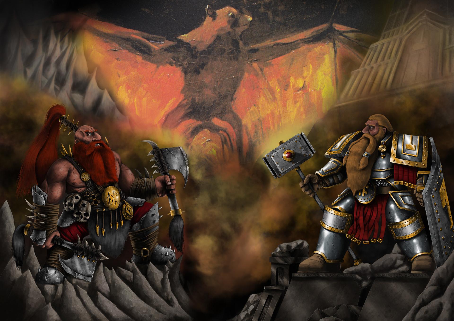 Image result for dwarf war art