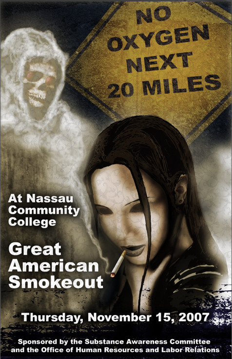 Winner , Great American Smoke-out Poster Contest 2007