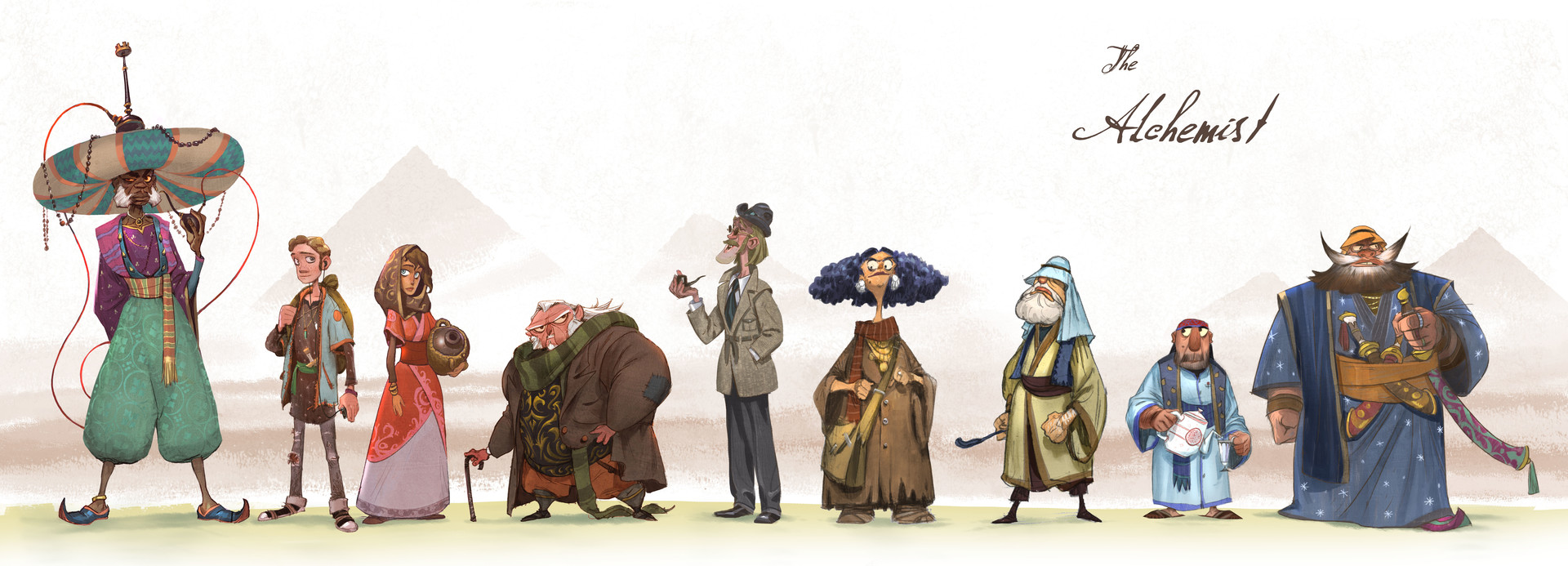 The Alchemist, character line up