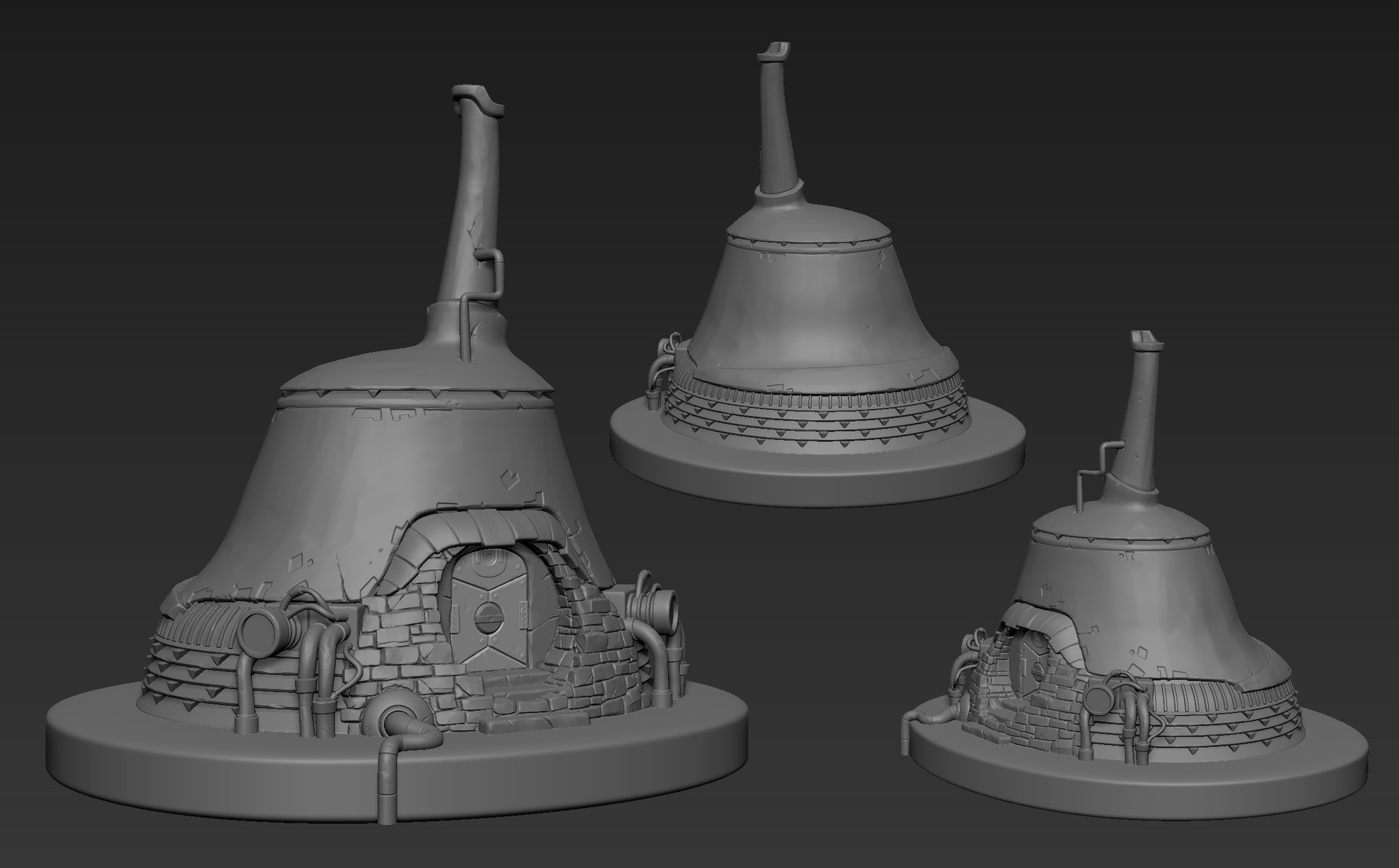 Robert fink motiga hut sculpt