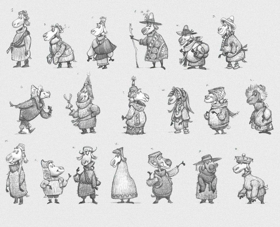 Rock Dog,  Sheep character design development