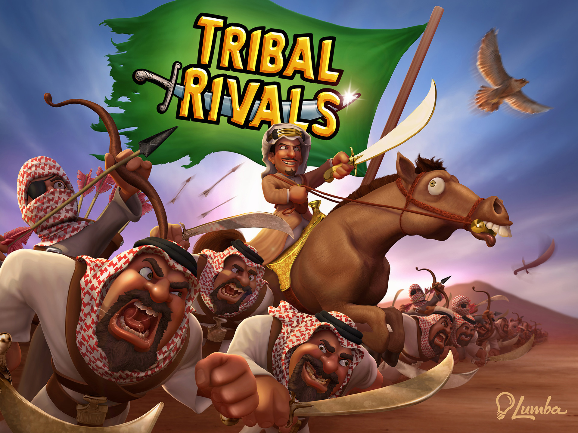 Tribal Rivals: Loading Screen