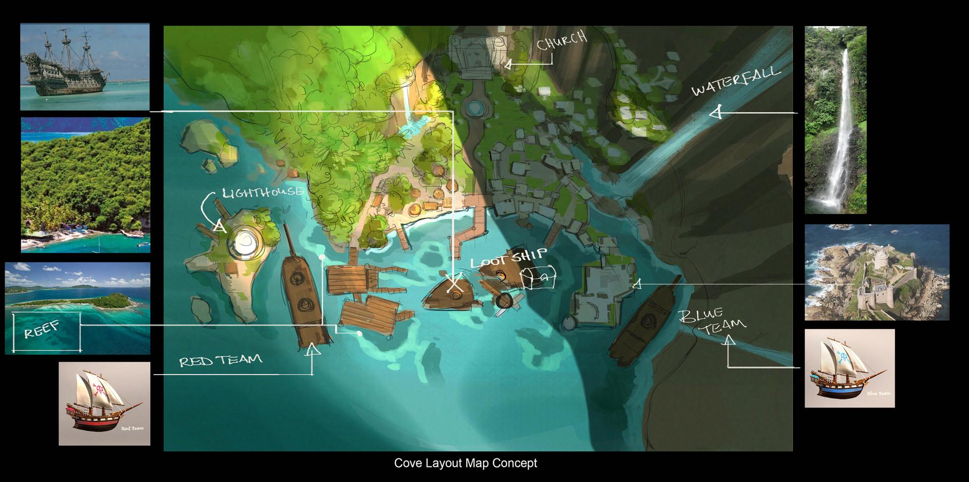 Brian yam relay art ca env cove map flat