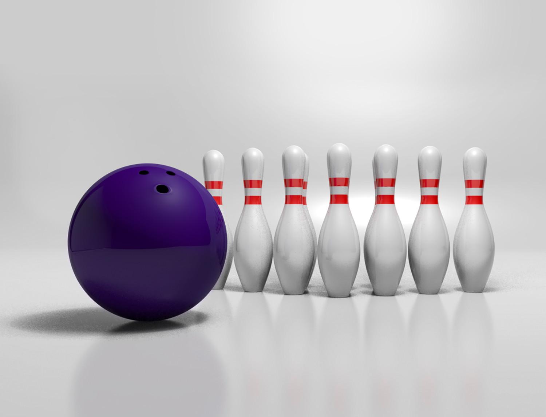 Rajesh sawant bowling alley white bg