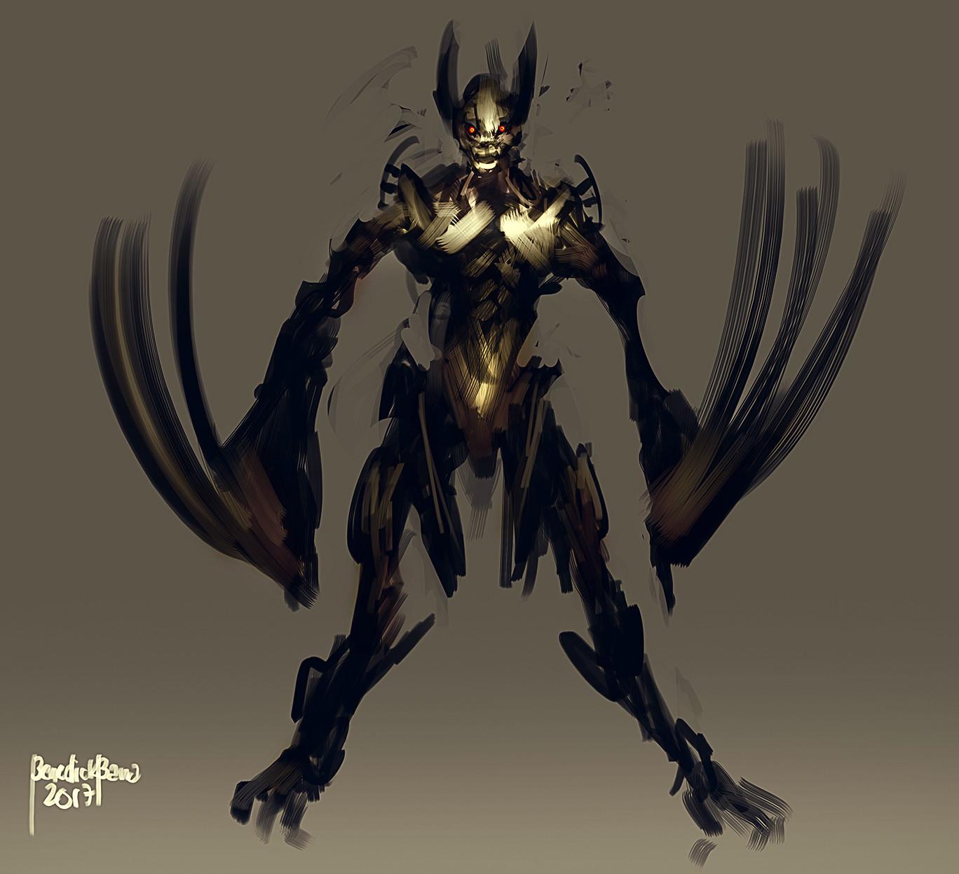 Benedick bana creature design 001 lores