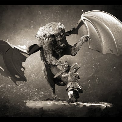Freya game the warrior and the manticore