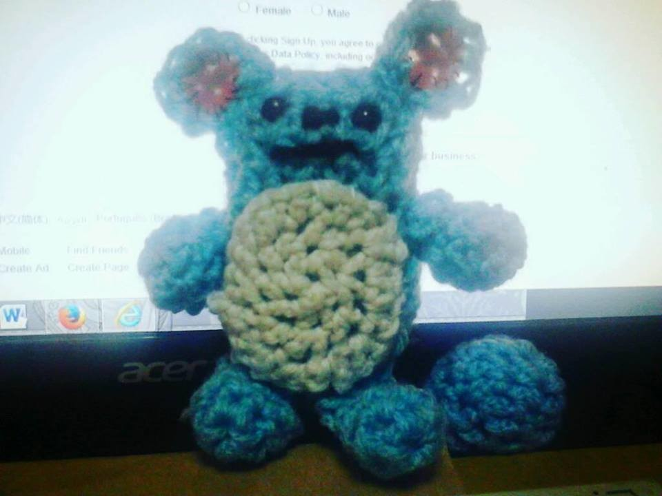 Made a super cute Marill! (Pokemon) : crochet | 720x960