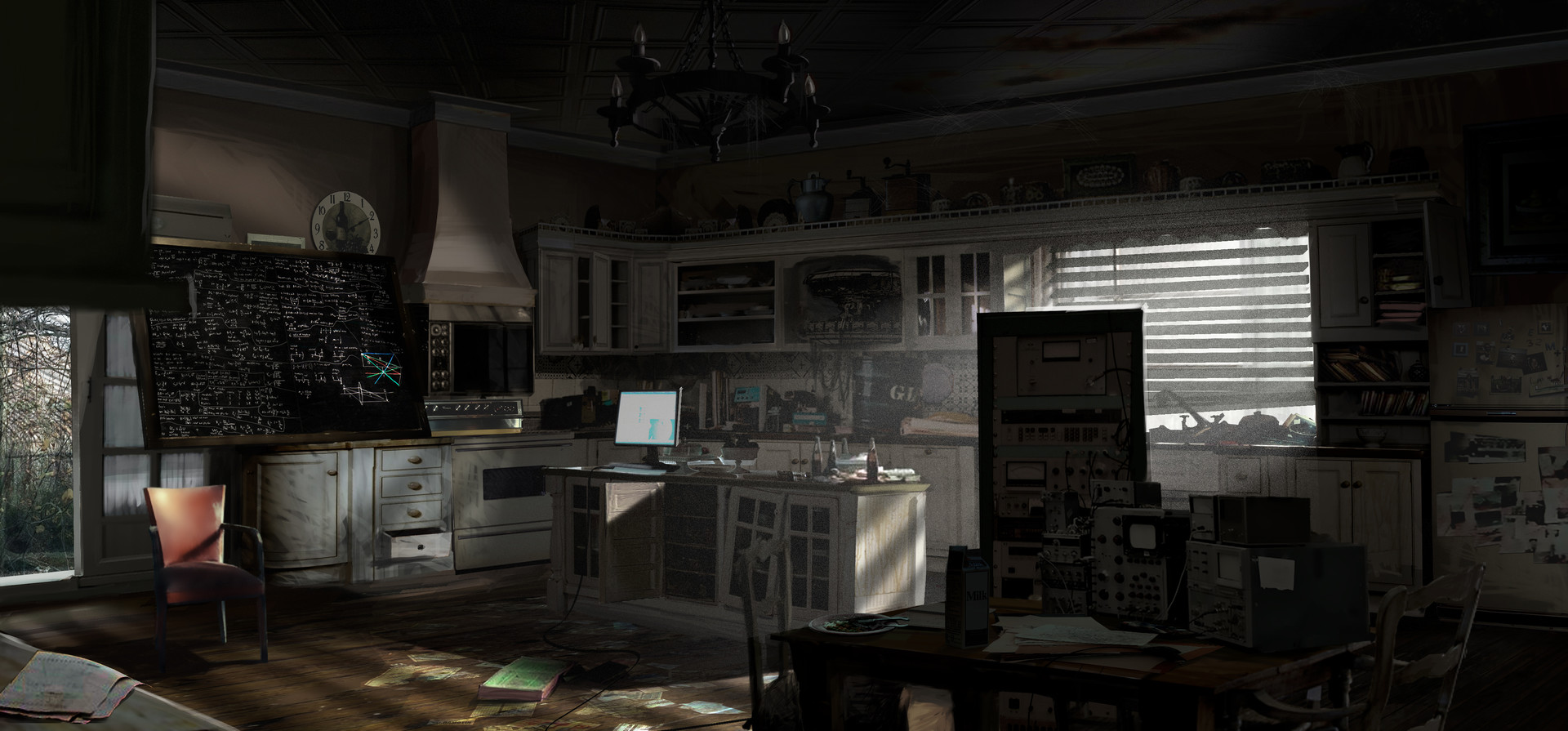 Quantum Break | FarmHouse Kitchen