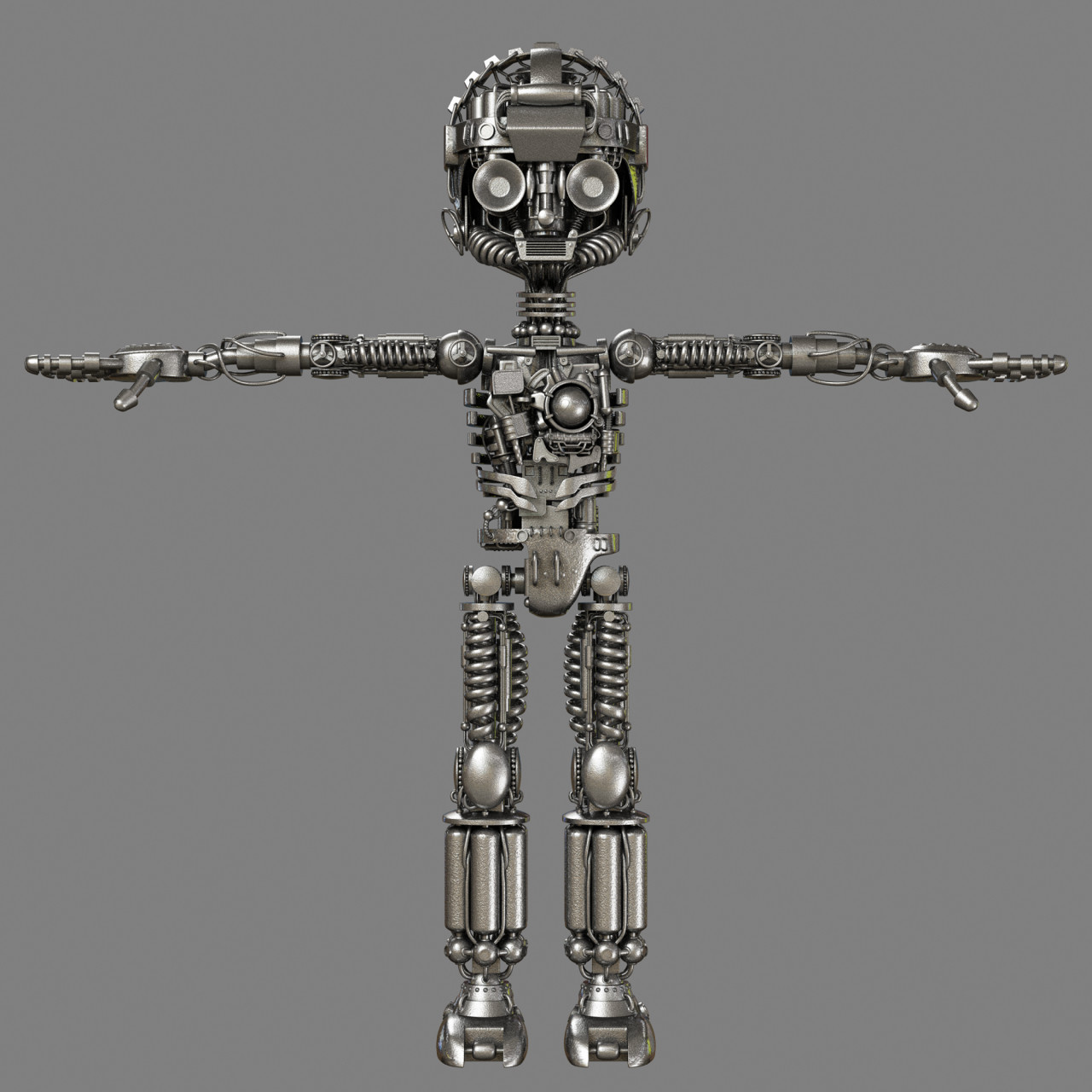 "Astro-Boy Skeleton for the film ""Astro-Boy"" for IMAGI Animation Studios."