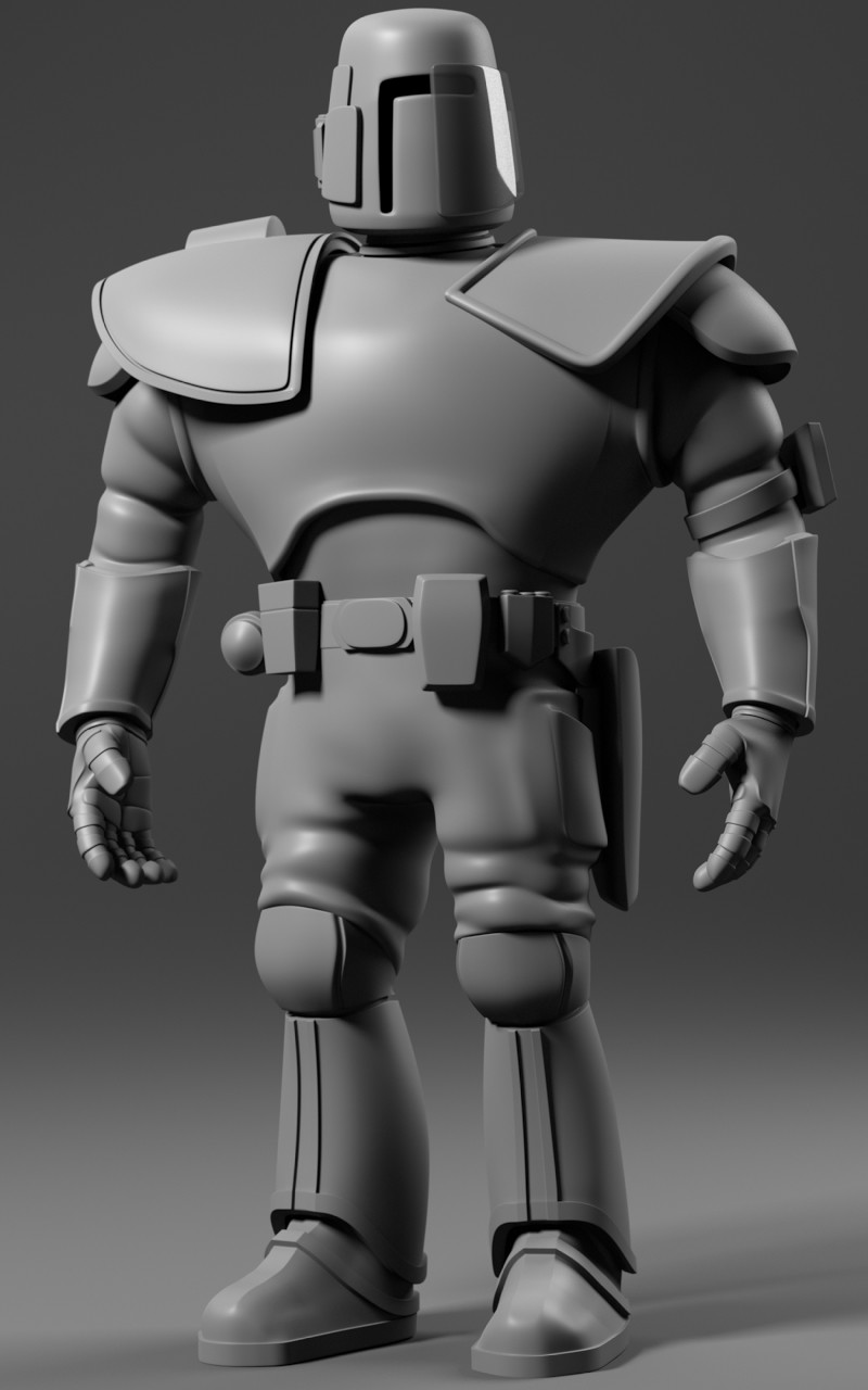 """Soldier for the film """"Astro-Boy"""" for IMAGI Animation Studios."""