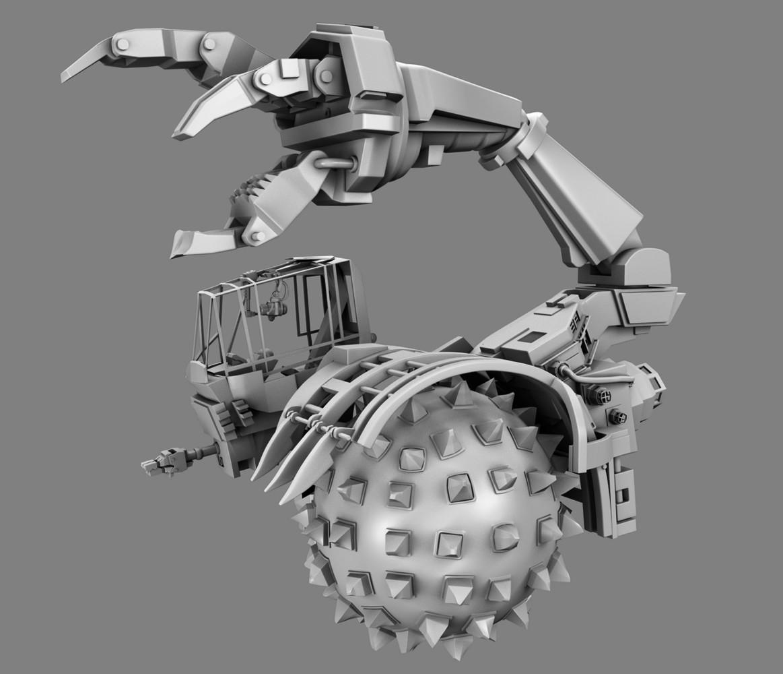 "Skorpion for the film ""Astro-Boy"" for IMAGI Animation Studios."