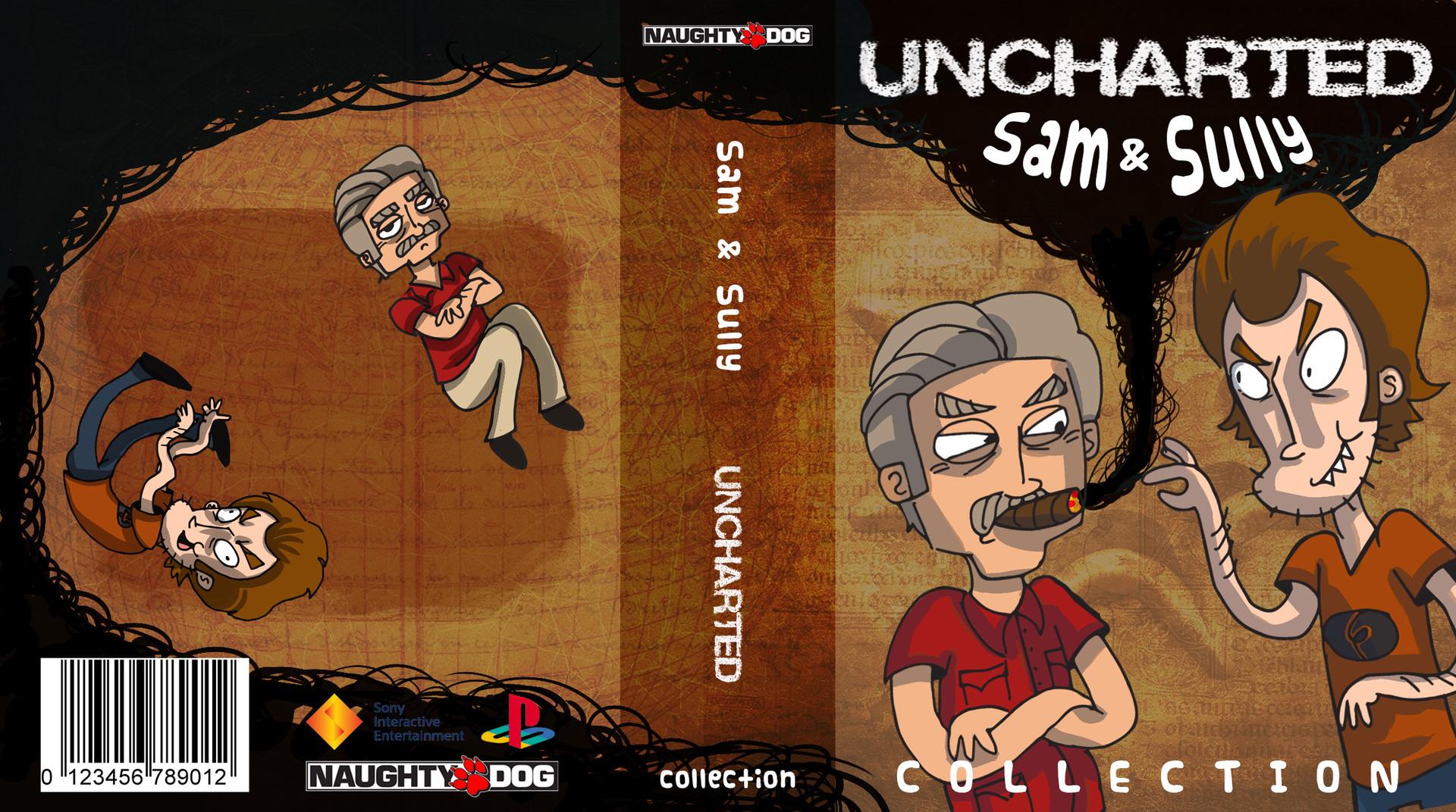 Artstation Uncharted Sam And Sully Carey Penton