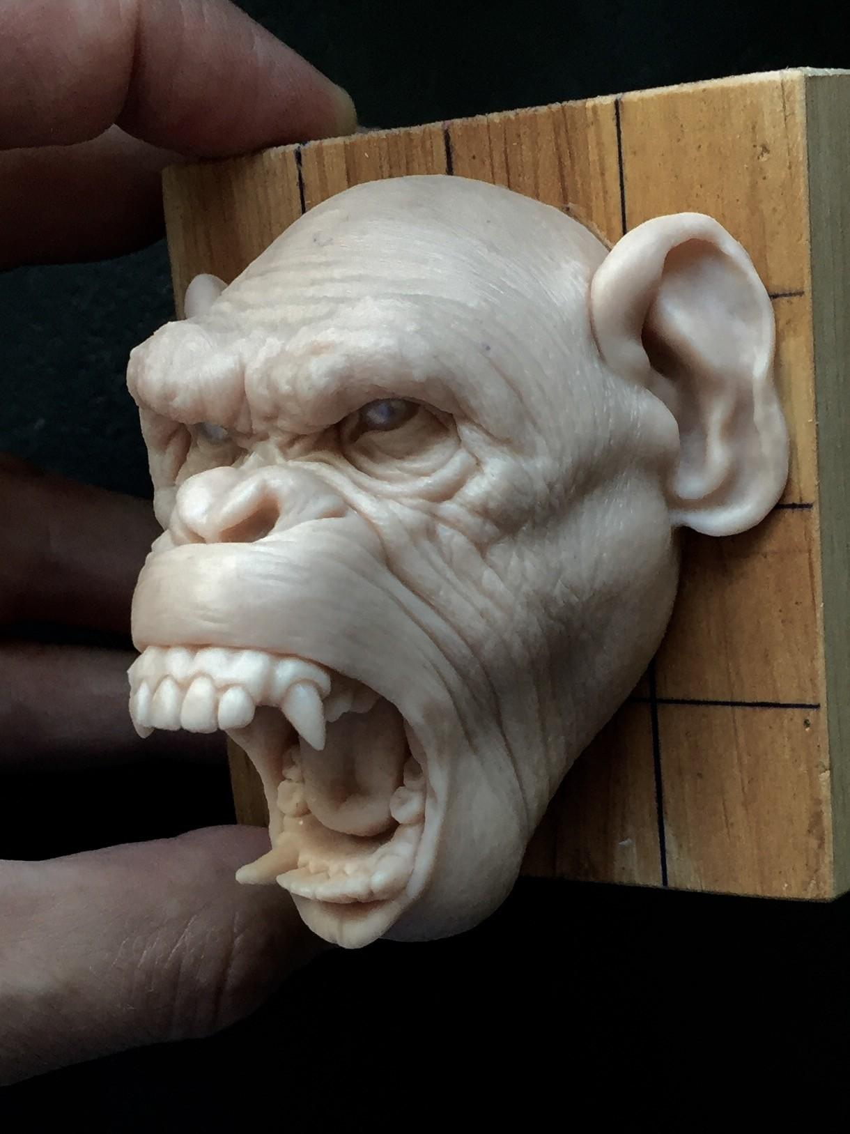 Monkey/super sculpy