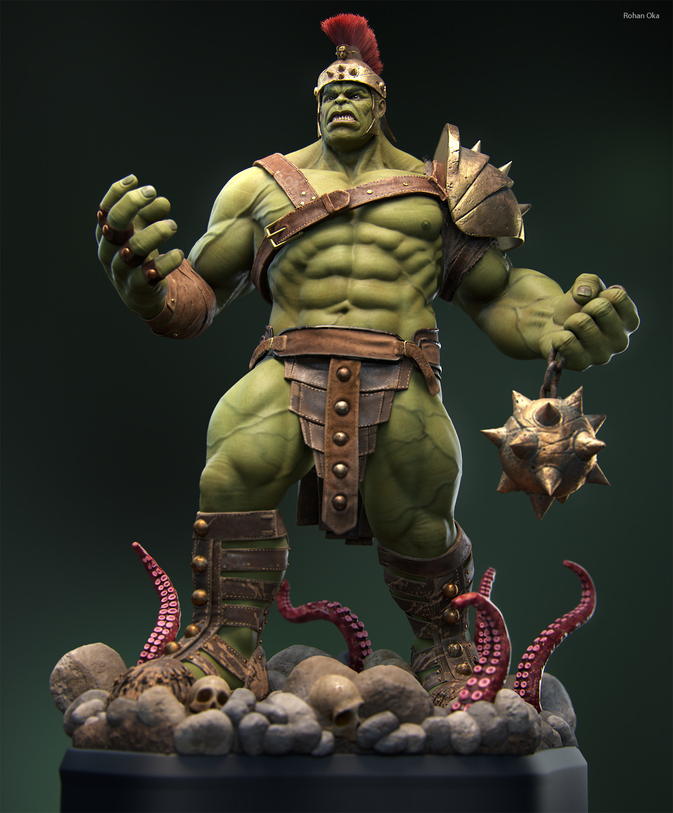 Gladiator Hulk - Full Body