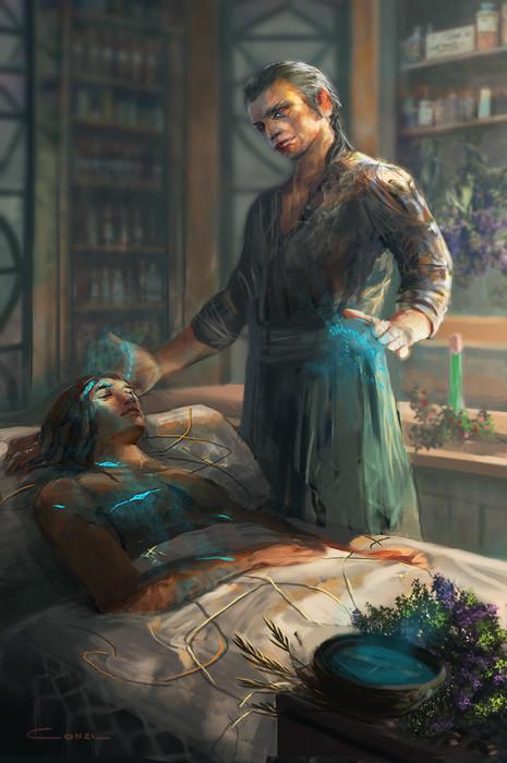 Consuelo pecchenino elrond the healer