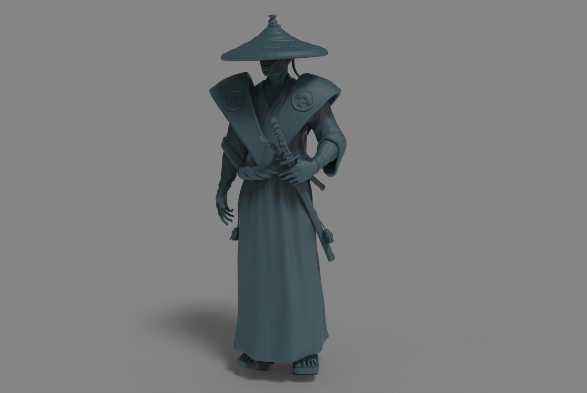 Boyan kazalov samuraikeyshotrenderpractice