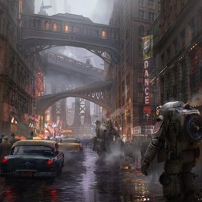 Eddie mendoza rainy street