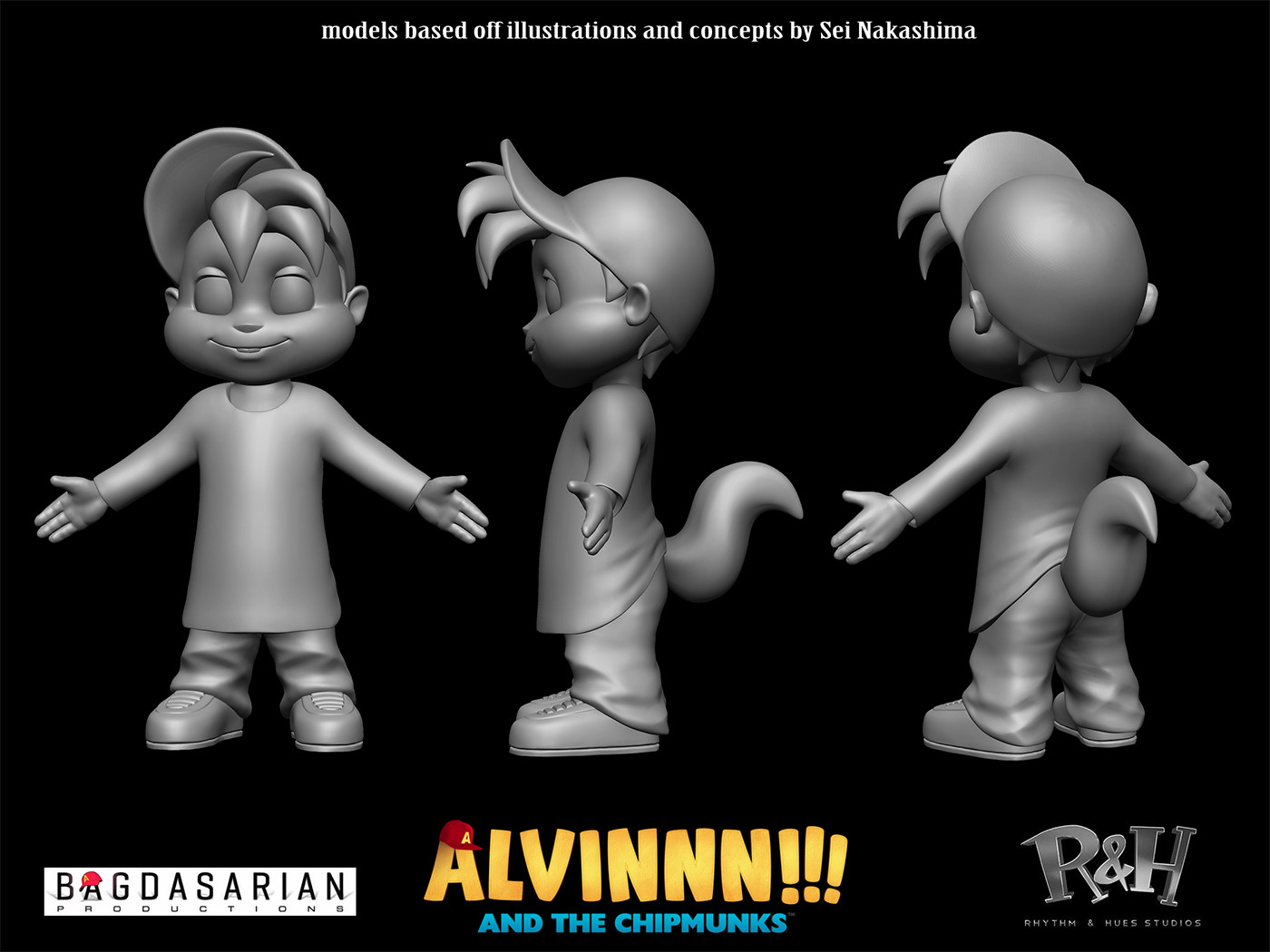 ArtStation - Alvinnn!!! and the Chipmunks, Trevor Crandall