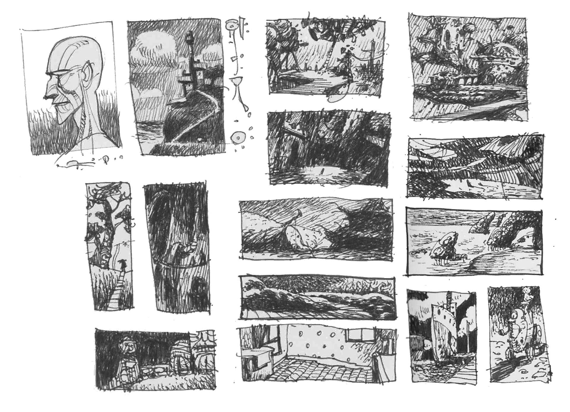 Rustam hasanov rh sketches 7
