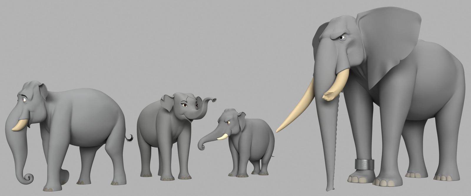 """Tusker"" for IMAGI Animation Studios"