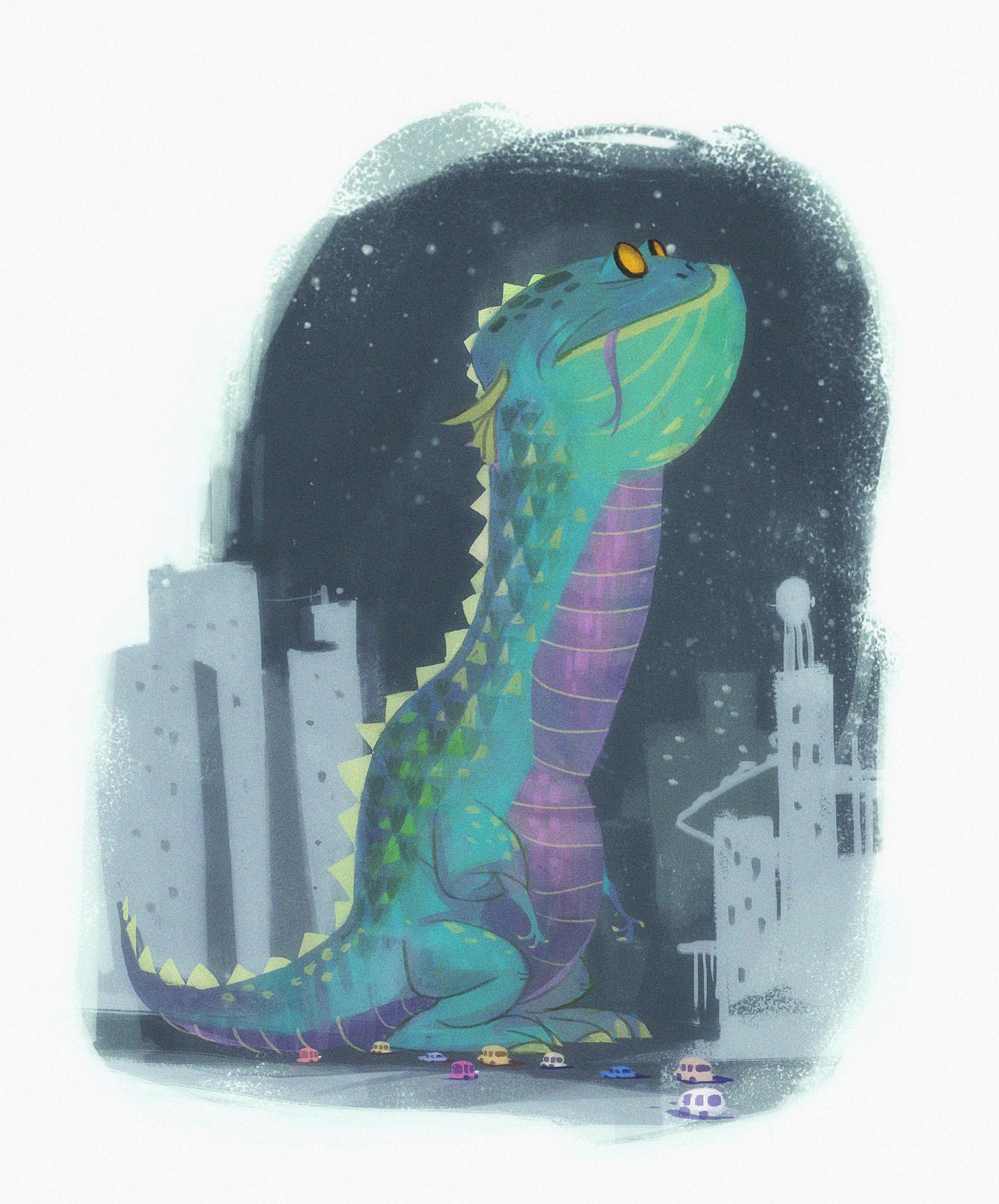Rustam hasanov giant lizard