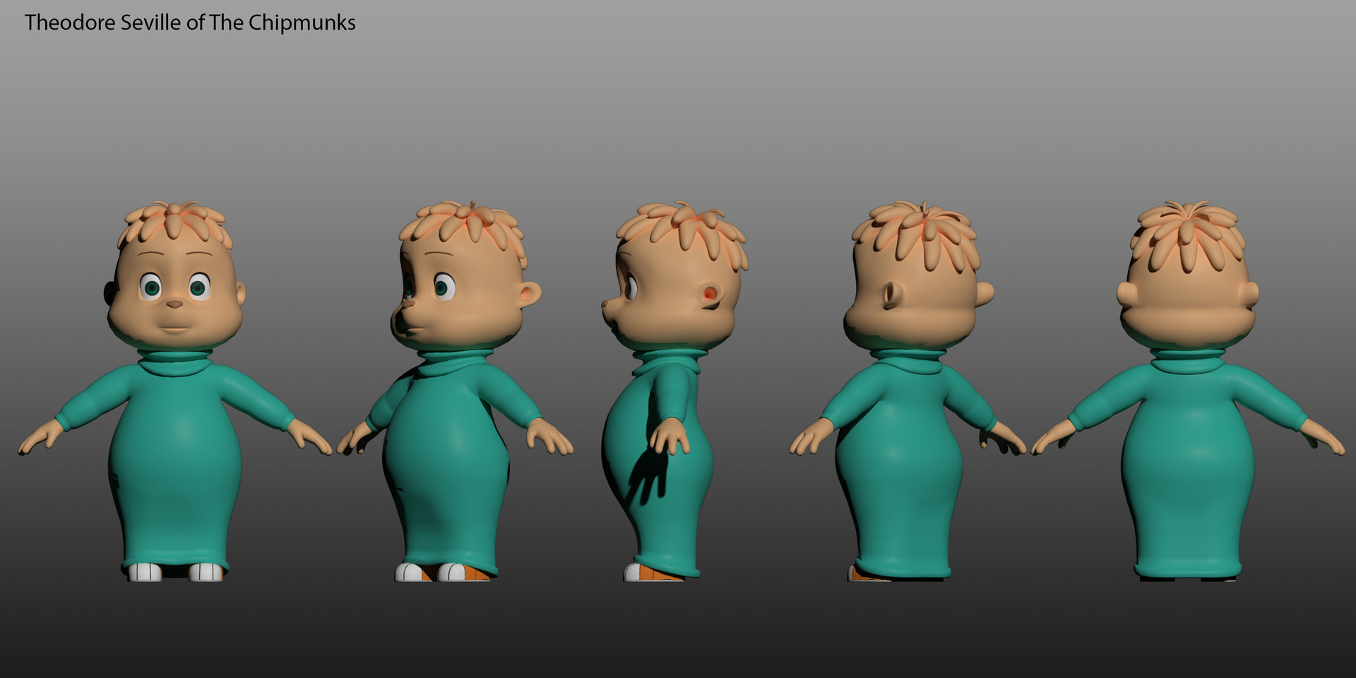ArtStation - Alvin and the Chipmunks, Bryan Khong