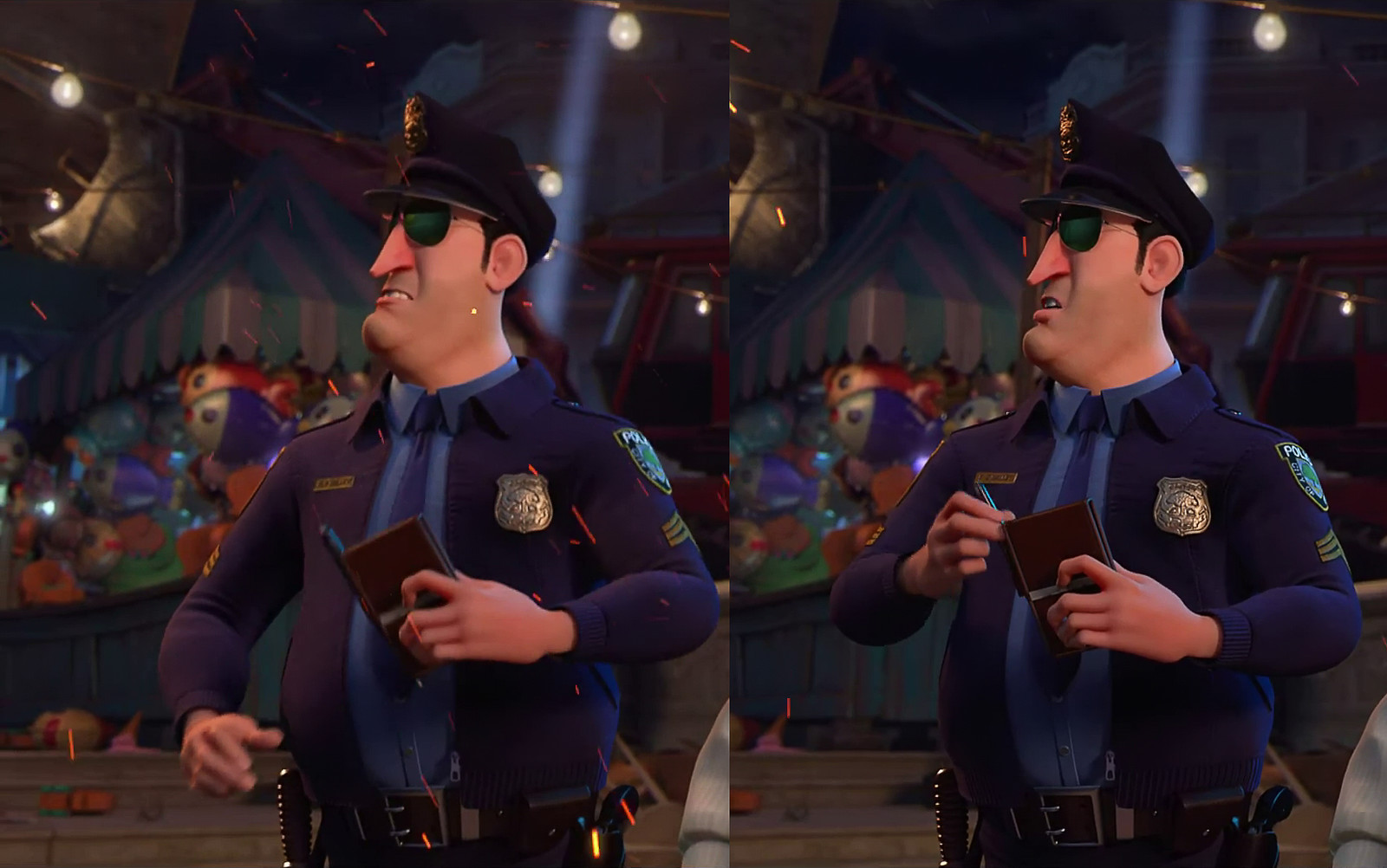 Nut Job 2 - Surfacing on Clothing and Accessories for Cop