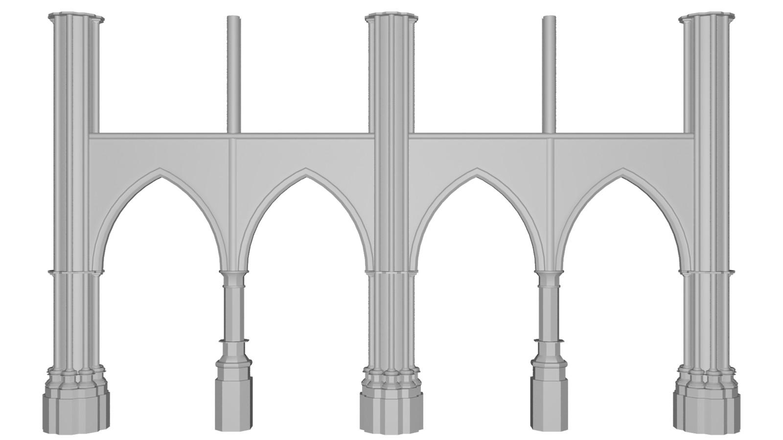 Bottom arches