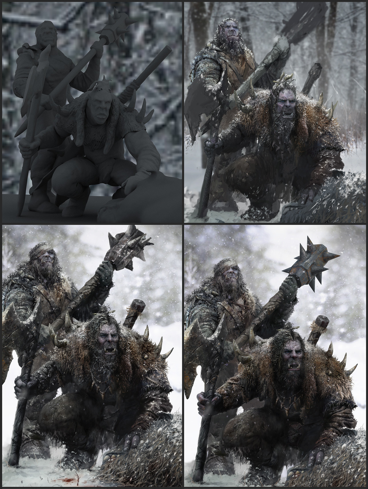George evangelista snow orcs hunters process