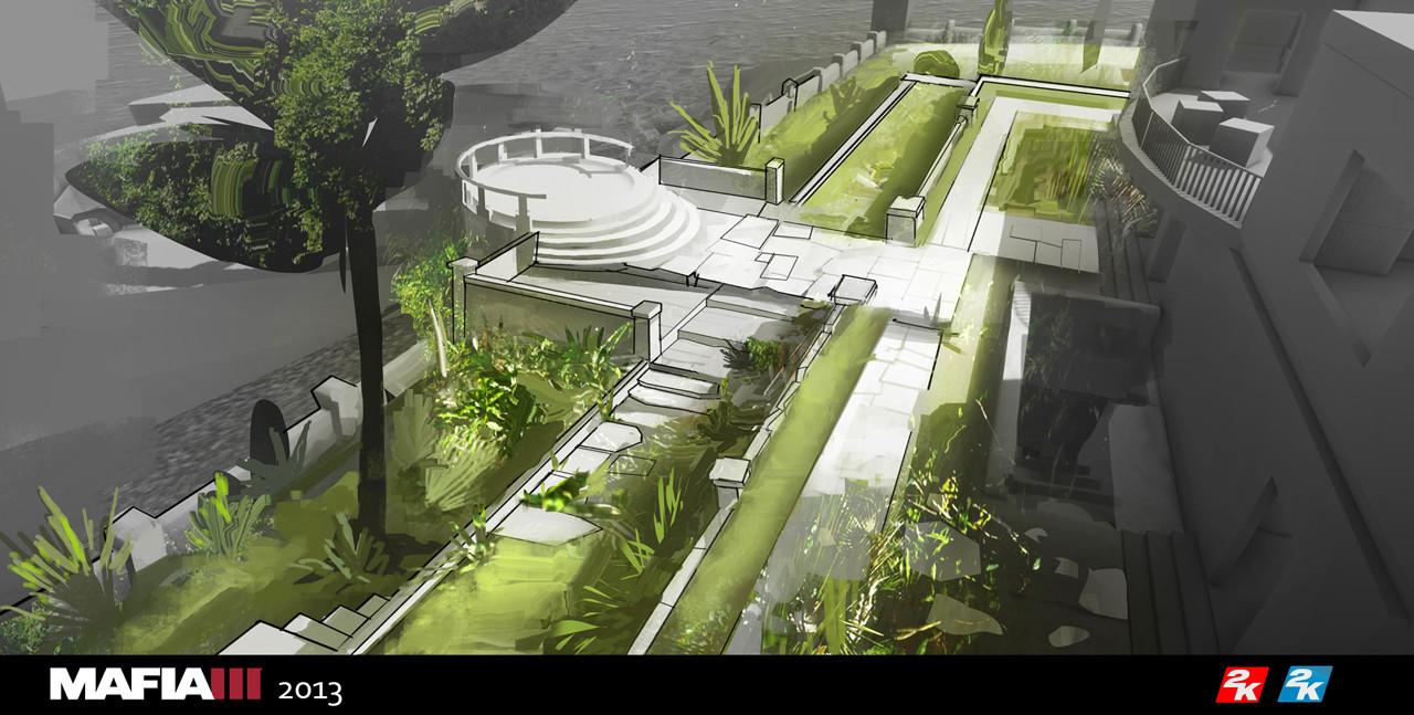 Adrien girod mafia3 mansion garden07 72