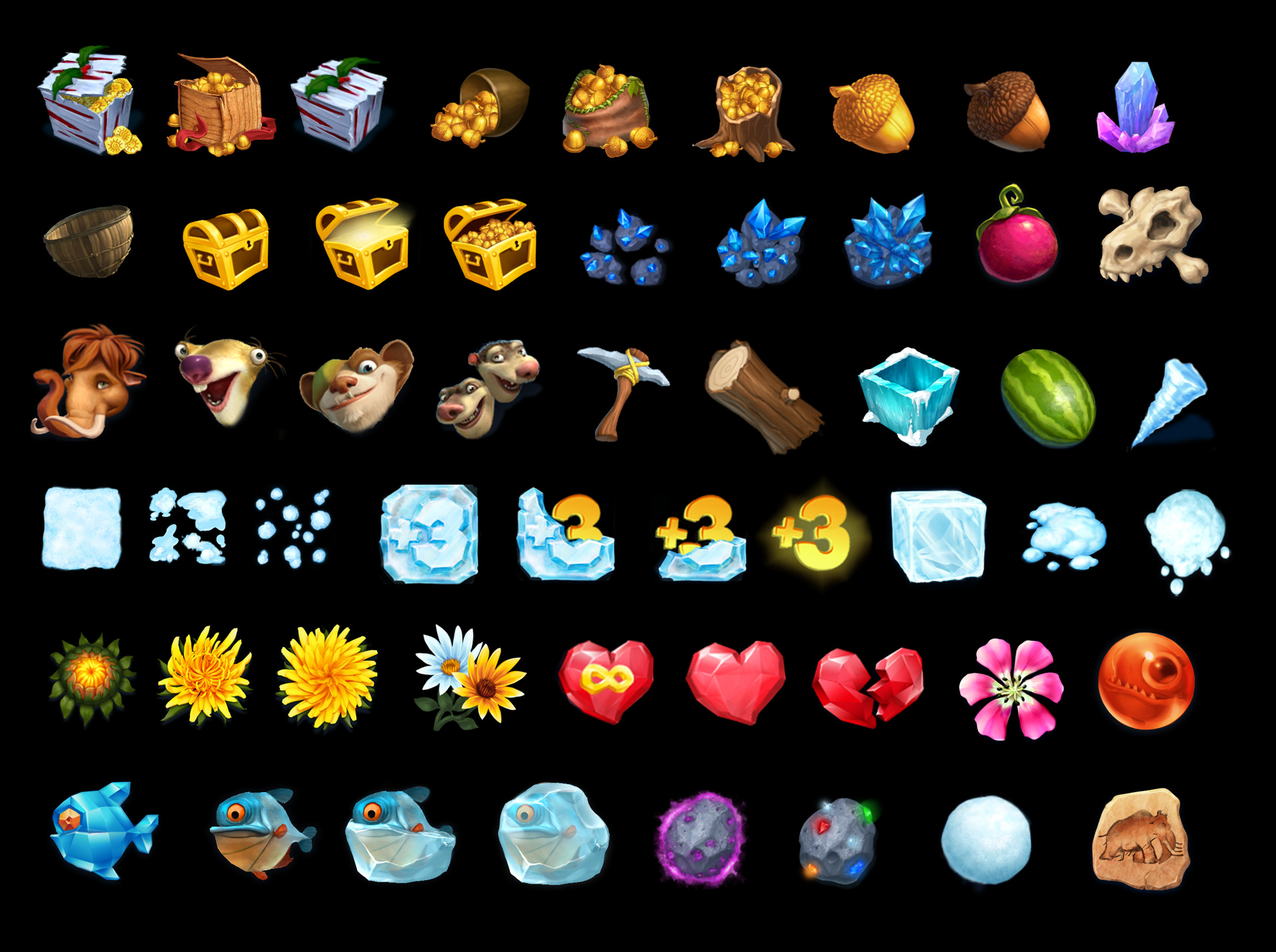 Game Icons for  IA:AB