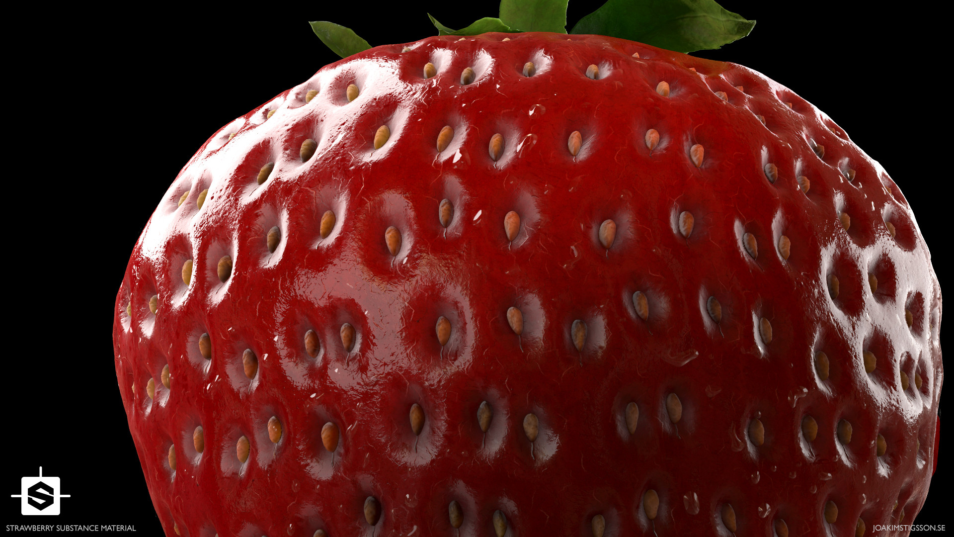 Joakim stigsson strawberry 03 render