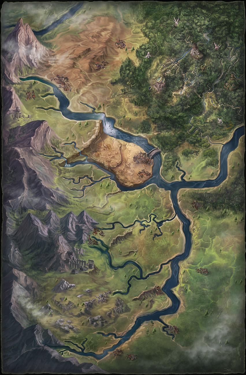 Pathfinder - Nirmathas and Molthune