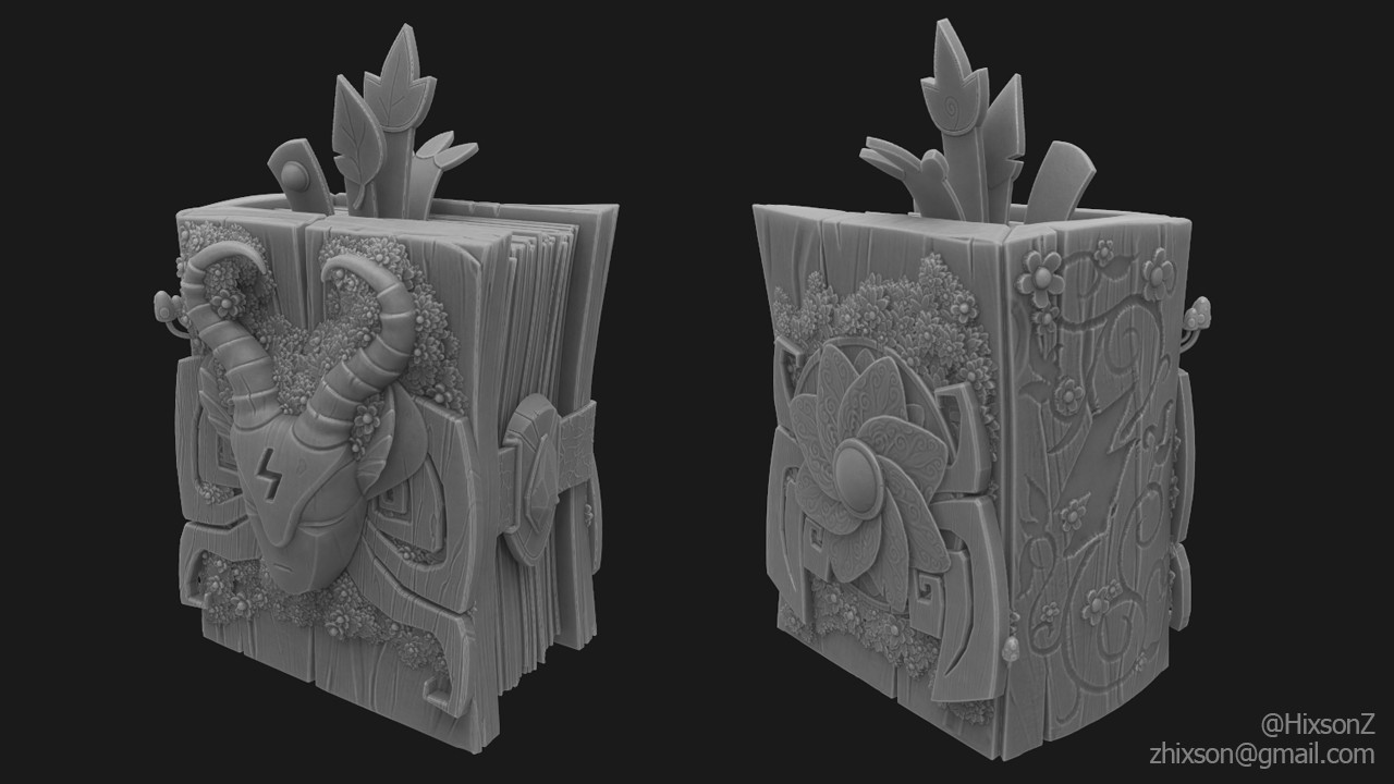 High poly done in 3D Coat.