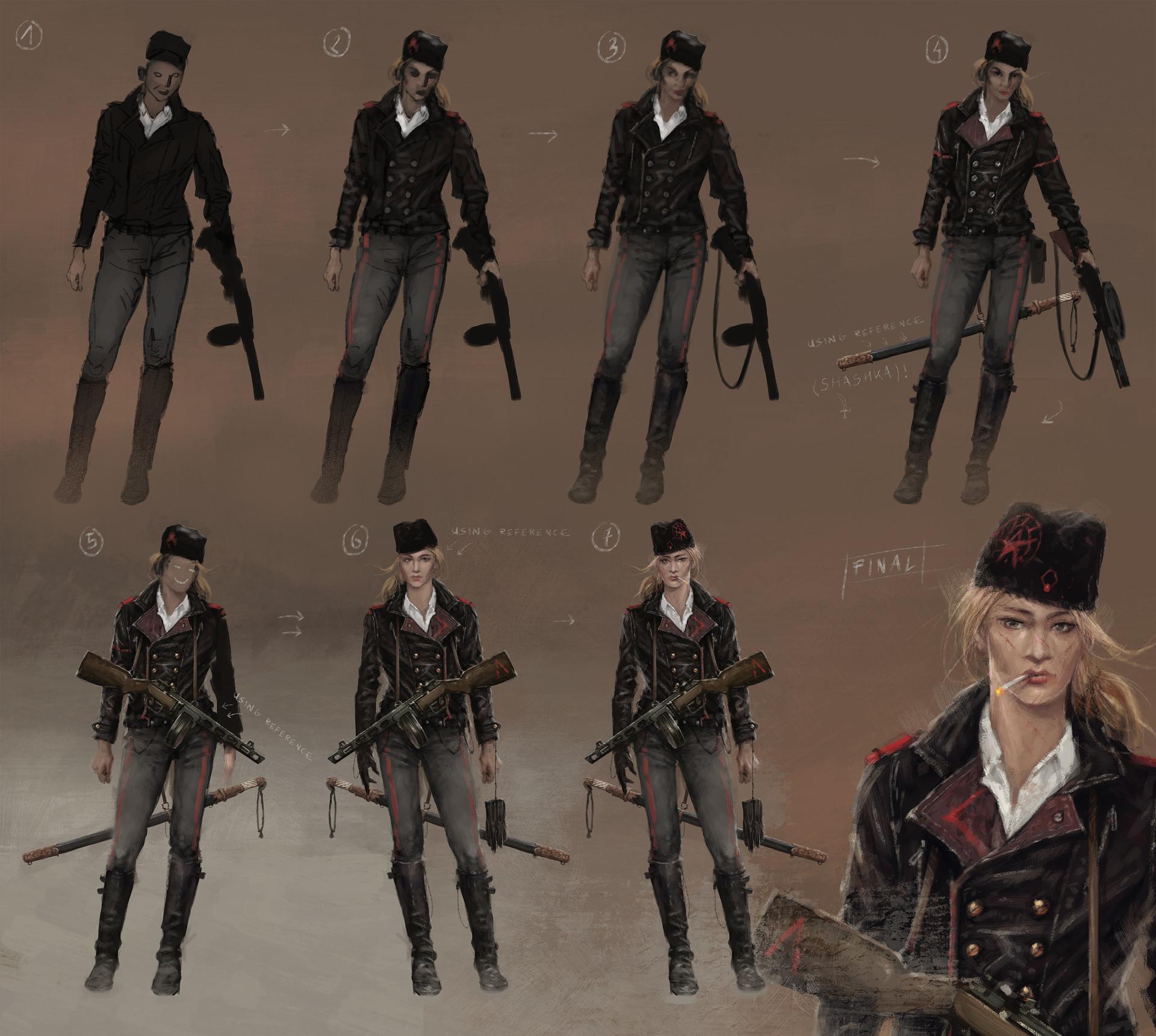 Jakub rozalski olga concept art01s1process
