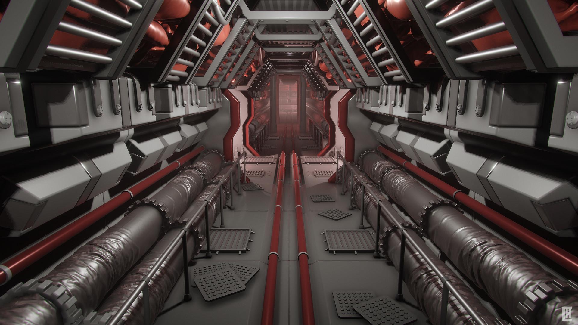 Colony Service Corridor
