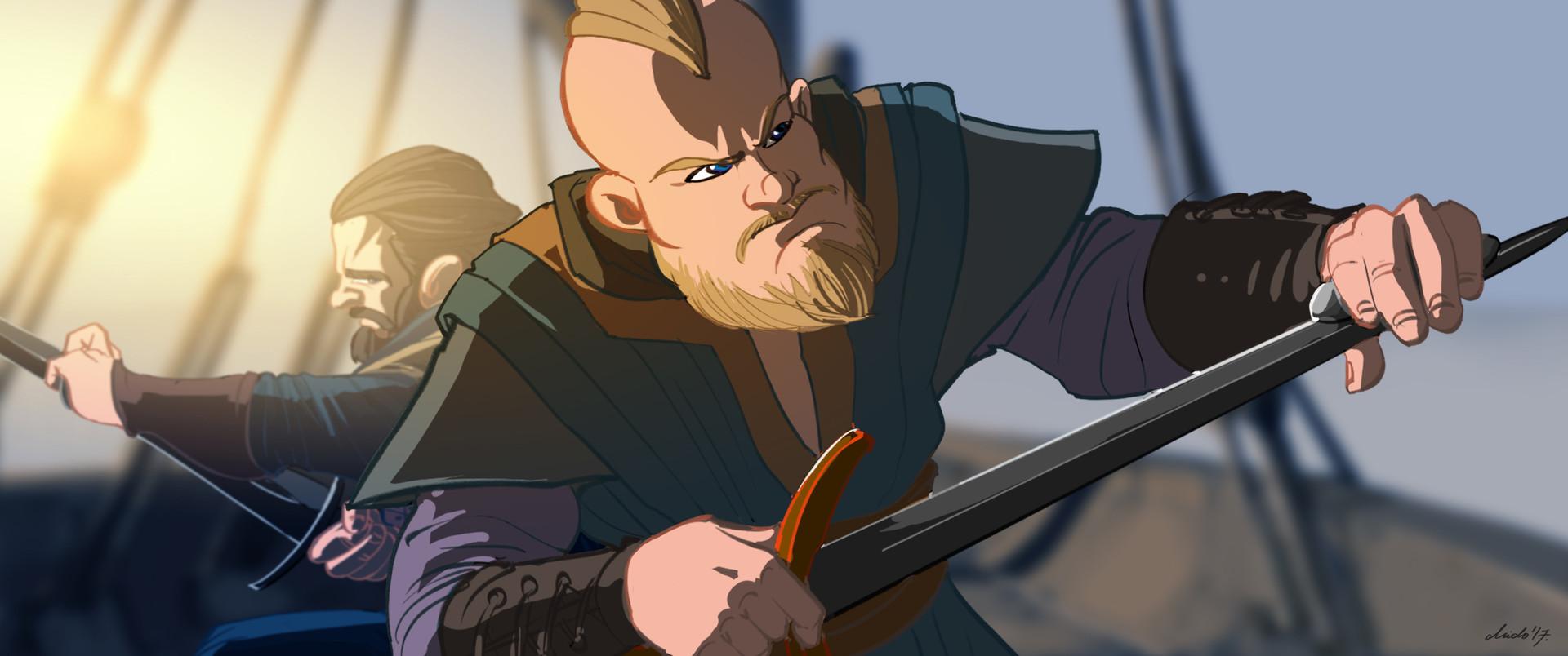 Midhat kapetanovic vikings cartoon 02