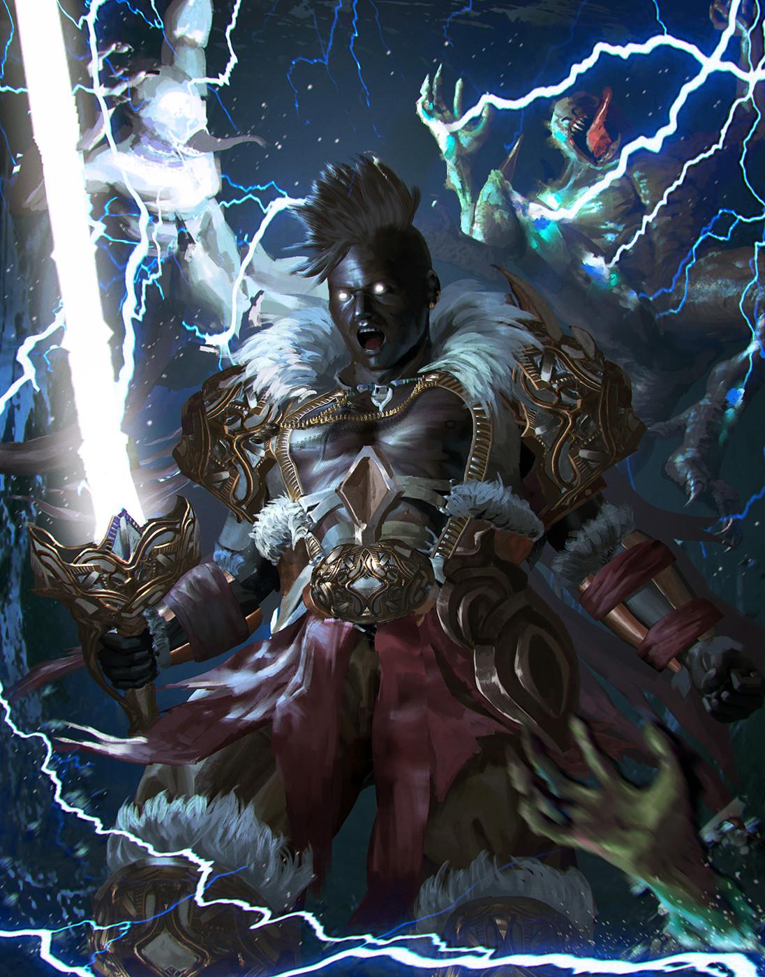 Freilneld , The Thunder Bringer