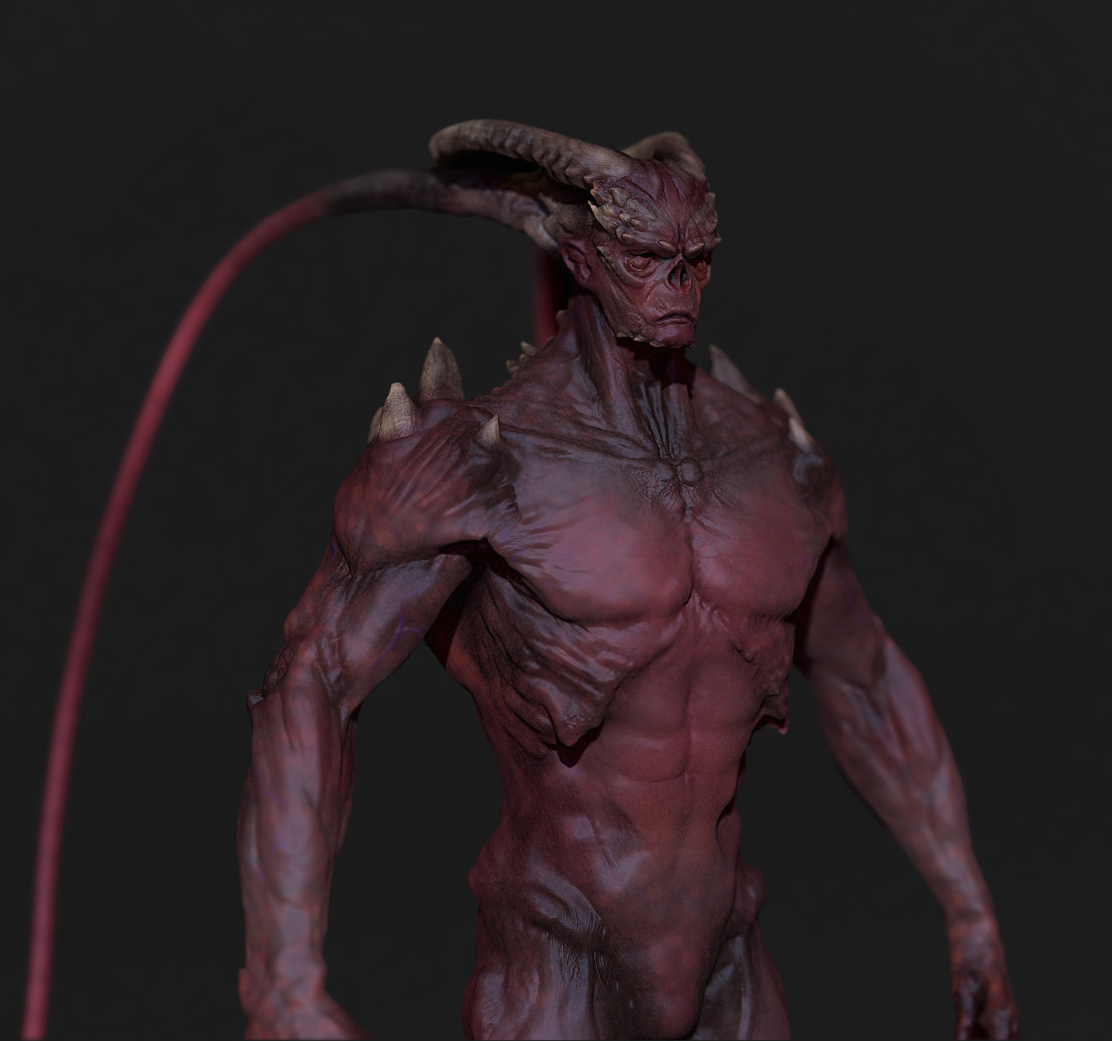 Brent minehan demon render