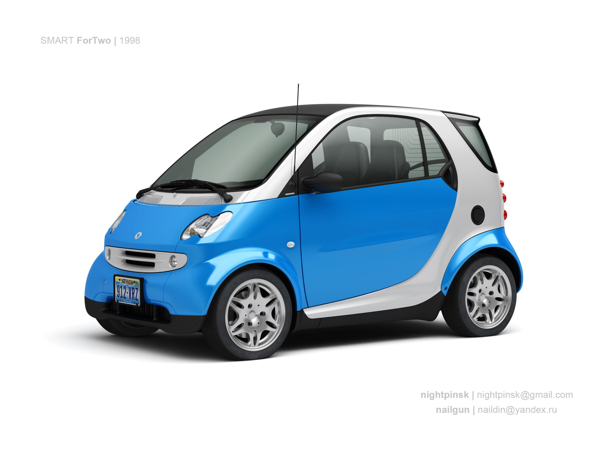 Nail khusnutdinov germany smart fortwo 0